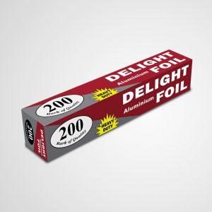 Aluminium Foil 200 Heavy Duty in 30Cm Width_DELIGHT
